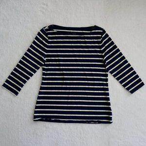 Navy Blue Striped Shirt - A New Day